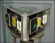 Sistema di metrologia ottica subacquea per reti di sensori mobili